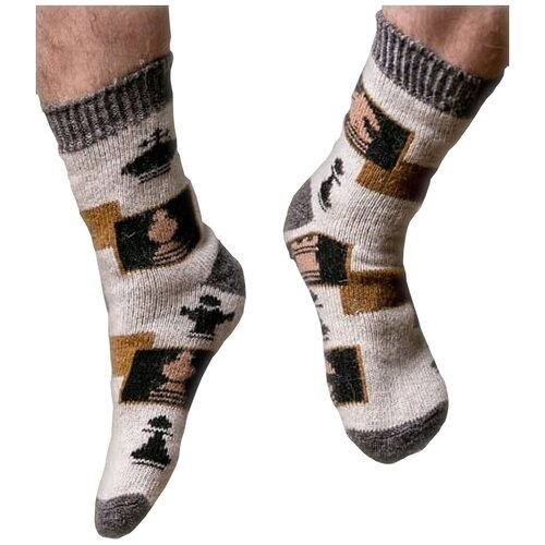 Носки шерстяные Бабушкины носки N6R90-1 размер 44-46