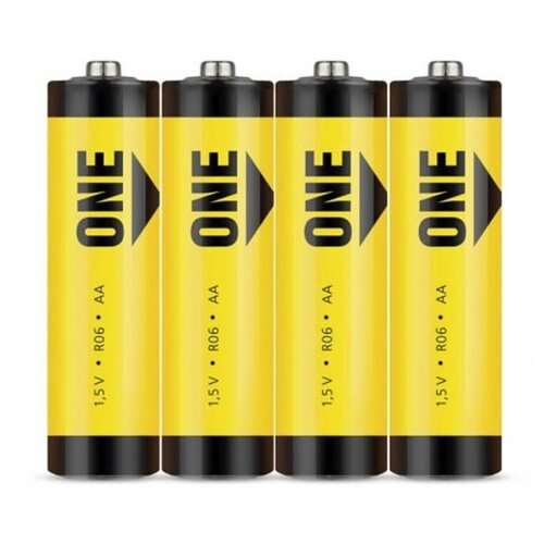 Фото - Батарейка AA - SmartBuy One R6 SOBZ-2A04S-Eco (4 штуки) батарейка smartbuy one eco alkaline aa 40 шт