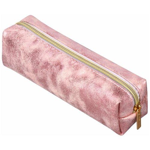 Фото - BRAUBERG Пенал-косметичка Luxury розовый пенал косметичка brauberg тайм