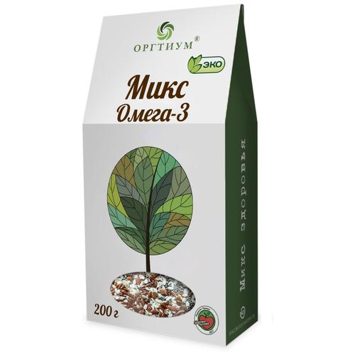 Смесь семян Оргтиум Микс Омега-3, 200 г микс семян льна оргтиум 200 г