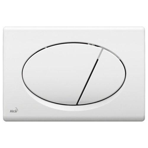 Фото - Кнопка смыва AlcaPLAST M70 белый кнопка смыва alcaplast m1732 xром мат