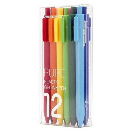 Набор гелевых ручек Xiaomi KACO, 12 цветов недорого