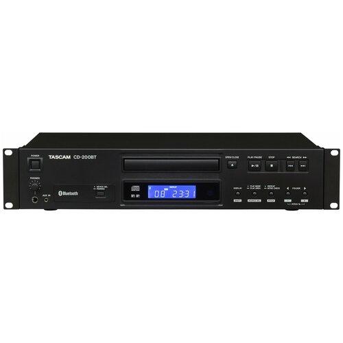 CD-проигрыватель Tascam CD-200BT черный