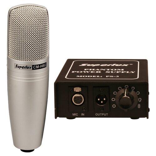 Микрофон Superlux CMH8G, шампань
