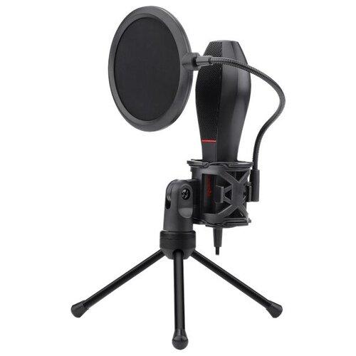 Игровой стрим микрофон Redragon Quasar 2 GM200-1 USB, кабель 1.35 м