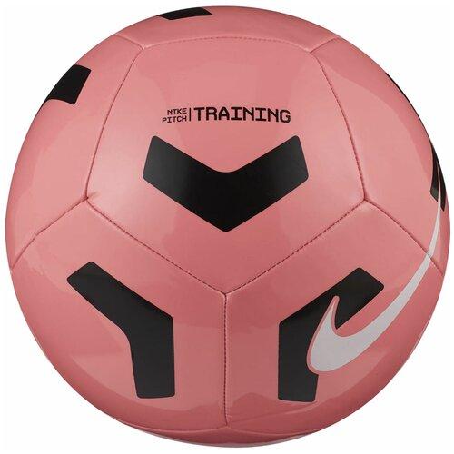 Футбольный мяч NIKE Pitch Training SC3101 розовый 5