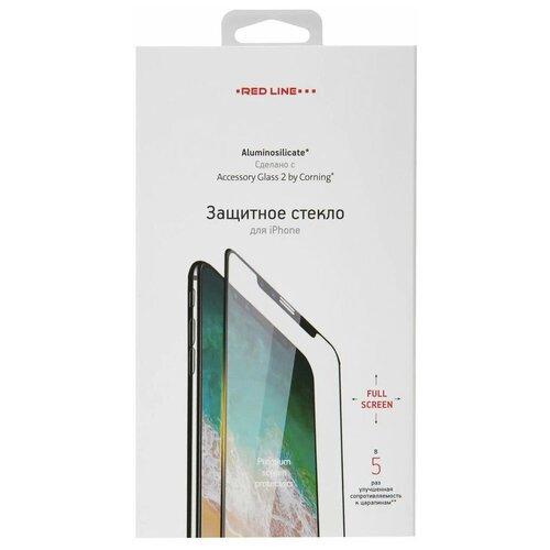Фото - Защитное стекло Red Line Corning Full Screen для Apple iPhone 12 черный защитное стекло red line corning full screen для apple iphone 12 pro черный