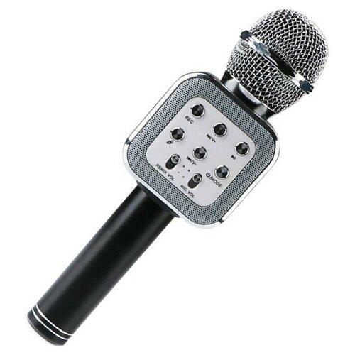 Беспроводной караоке-микрофон WS-1818 (чёрный)