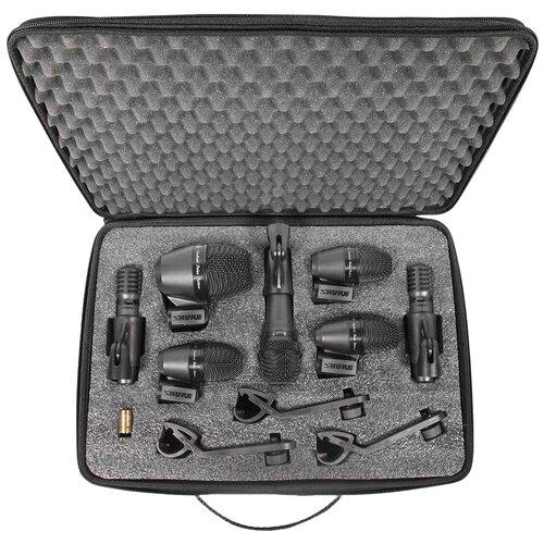 Комплект микрофонов Shure PGADRUMKIT7, черный
