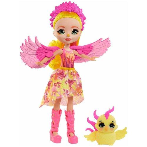 enchantimals кукла felicity fox Enchantimals Кукла Фалон Феникс и Санрайз