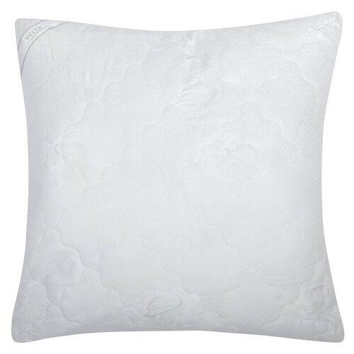 Подушка стёганная 70х70 см, иск. лебяжий пух, ткань глосс-сатин, п/э 100%