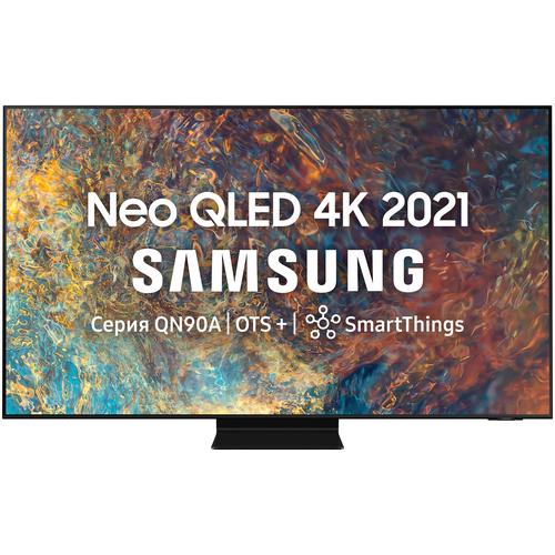Фото - Телевизор QLED Samsung QE75QN90AAU 74.5 (2021), черный титан телевизор qled samsung qe55q700tau 55 2020 черный титан