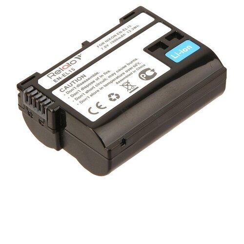 Аккумулятор Relato EN-EL15 для Nikon D500/D600/D750/D7000/D7100/D7200/D750/D800/D800E/D810/D810A/Nikov 1 V1