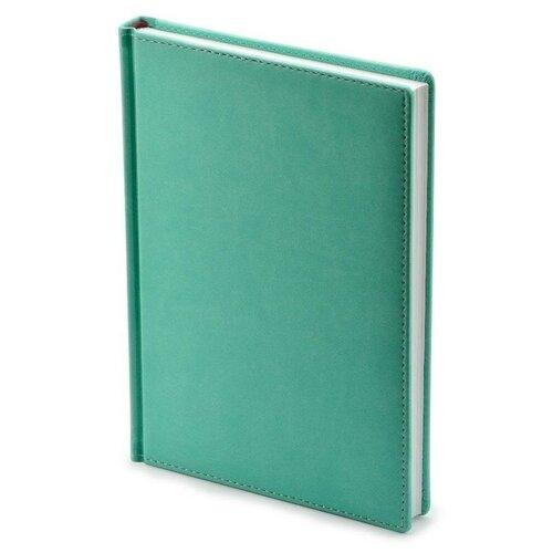 Купить Ежедневник недатированный Attache Velvet искусственная кожа Soft Touch A5+ 136 листов ментоловый (146х206 мм) 1 шт., Ежедневники