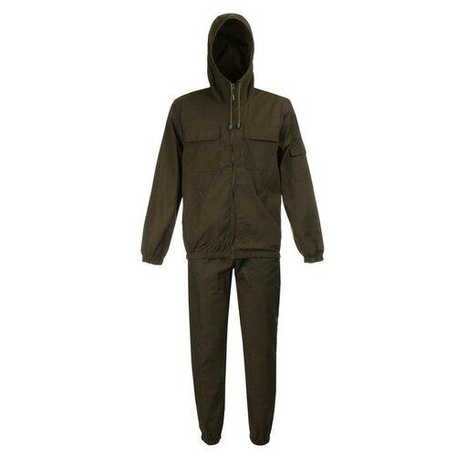 Костюм летний Стрелок, цвет хаки, ткань смесовая, размер 56-58, рост 182-188 6958490