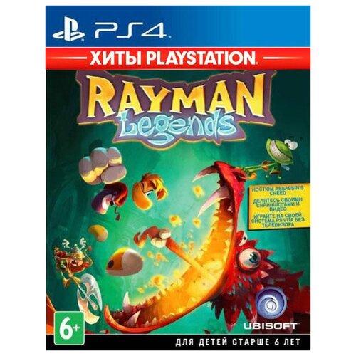 Rayman Legends (Хиты PlayStation) [PS4]