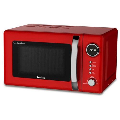 Микроволновая печь TESLER ME-2055 RED, 20л,700Вт,тип упр-электр,красный