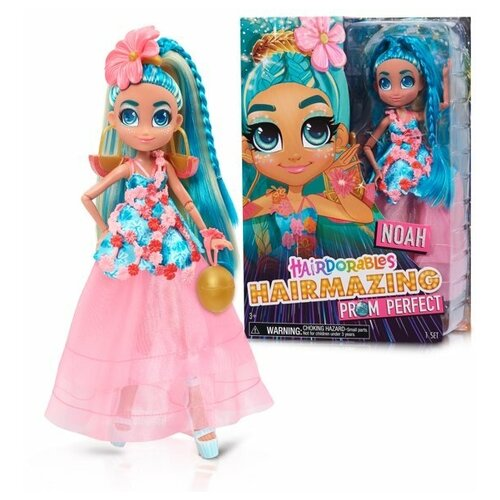 Кукла Хэрдораблс Ноа Выпускной вечер Hairdorables Hairmazing Prom Perfect Fashion Dolls, Noah