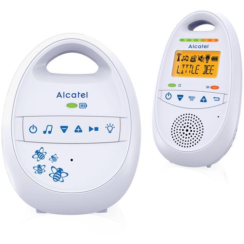 Фото - Радионяня Alcatel Baby Link 160 белый радиотелефон alcatel s230 белый