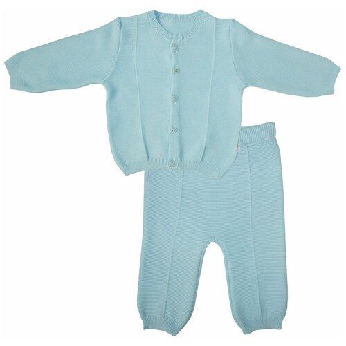 Фото - Комплект одежды Папитто размер 68, голубой комплект одежды leader kids размер 68 голубой