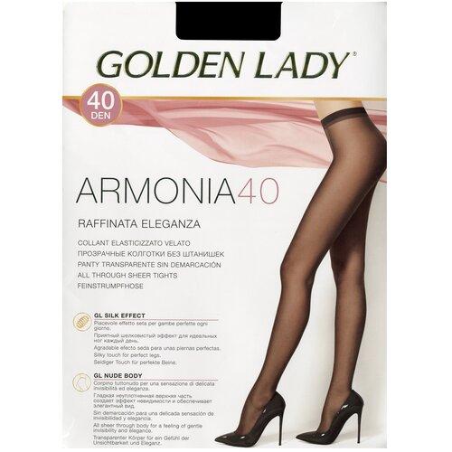 колготки женские levante relax 40 цвет glace темно бежевый размер xxl 5 Колготки Golden Lady Armonia, 40 den, размер 5-XL, glace (бежевый)