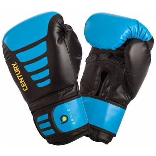 Боксерские перчатки Century BRAVE синий / черный 14 oz