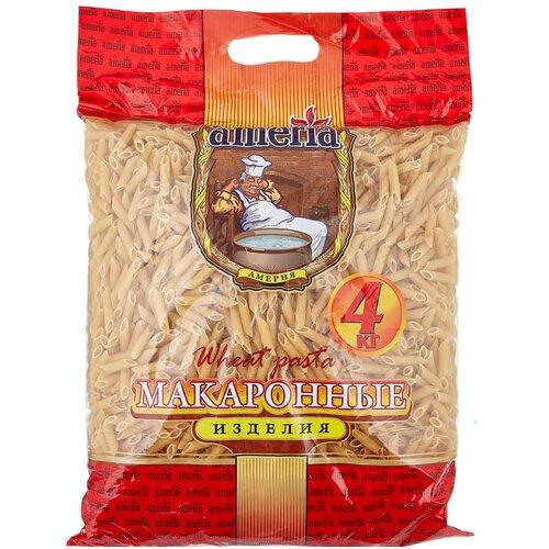 Ameria Макароны Перья рифленые № 23, 4 кг