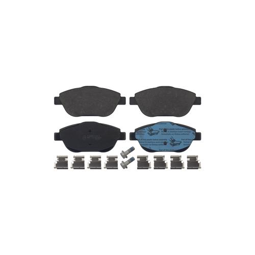 BOSCH 0986494438 (0000425431 / 0252488318 / 05P1590) колодки тормозные дисковые | перед |