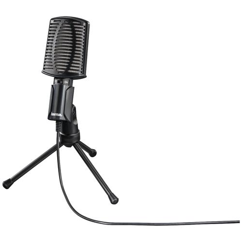 Микрофон HAMA Allround (00139906), черный