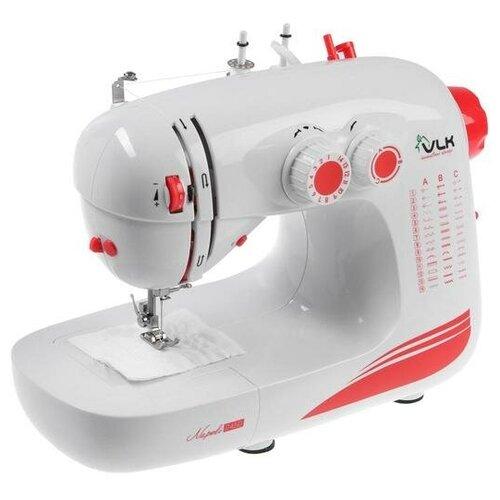 Швейная машина VLK Napoli 2450 42 операций LED подсветка бело-розовая 6536628