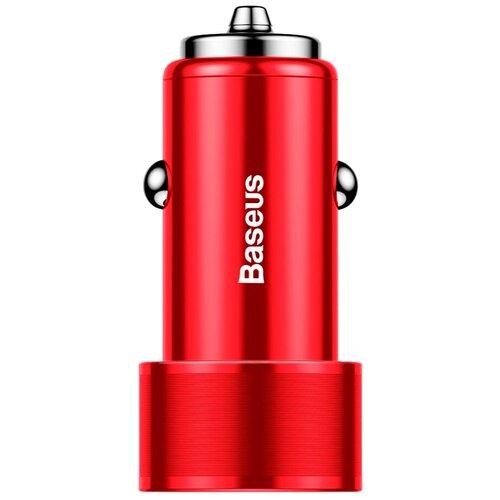 Автомобильная зарядка Baseus CAXLD-B01/B09, красный