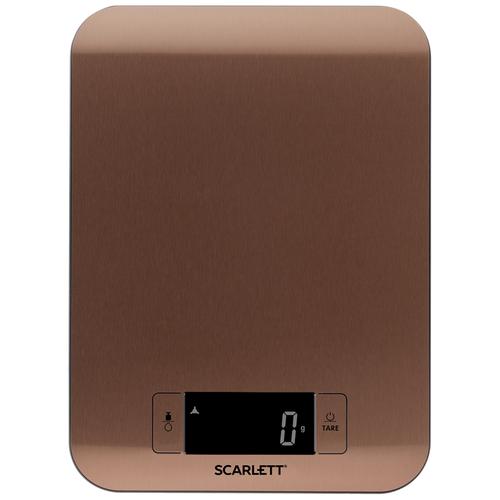 Кухонные весы Scarlett SC-KS57P49 бронзовый