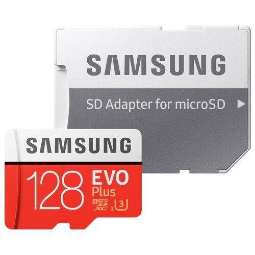 Карта памяти 128Gb - Samsung Micro Secure Digital XC EVO Plu