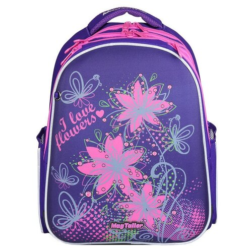 Фото - MagTaller Рюкзак Stoody Flowers, фиолетовый magtaller рюкзак stoody butterfly синий