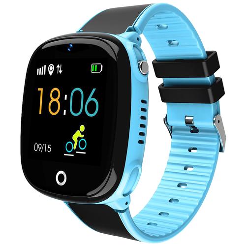 Детские умные часы Smart Baby Watch HW11, голубой часы детские smart baby watch y 85 синие