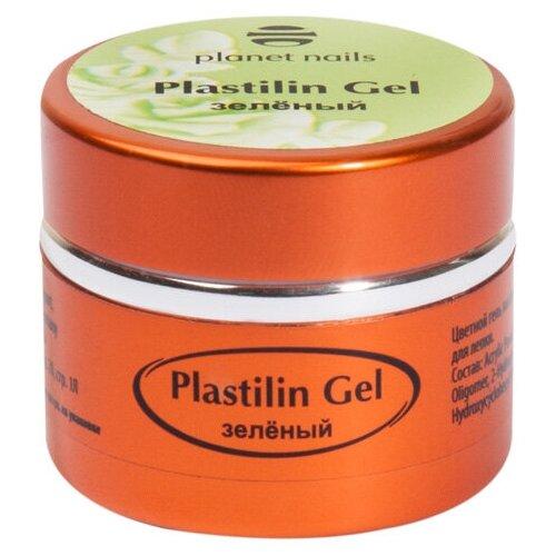 Купить Пластилин planet nails Plastilin Gel зеленый