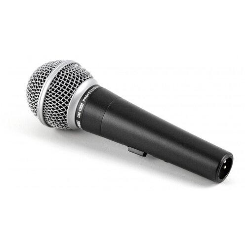 Микрофон Invotone DM1000, черный/серебристый