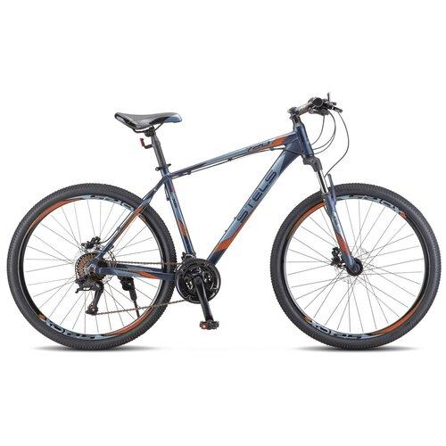 велосипед stels navigator 800 lady 28 v010 17 синий Велосипед Stels Navigator 720 MD 27.5 V010 (2020) 19 темный/синий (требует финальной сборки)