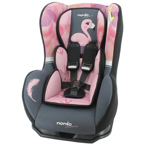Автокресло группа 0/1 (до 18 кг) Nania Cosmo SP Animals, flamingo автокресло группа 0 1 до 18 кг nania driver colors blue