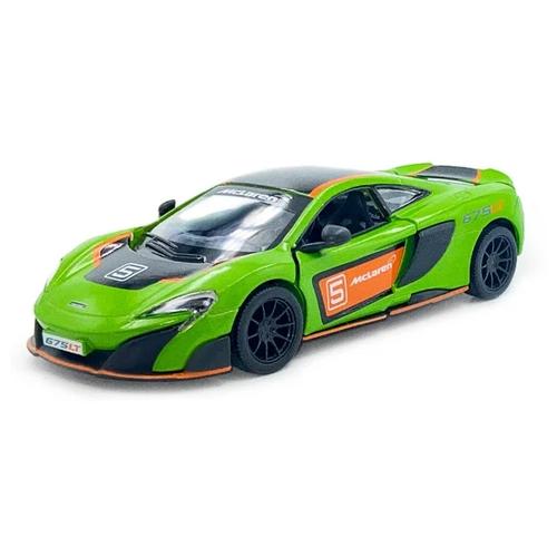 Купить Гоночная машина Serinity Toys McLaren 675LT (5392DFKT) 1:34, 12.5 см, зелeный, Машинки и техника