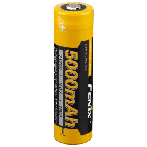 Фото - Аккумулятор Li-Ion 5000 мА·ч Fenix 21700 ARB-L21-5000, 1 шт. аккумулятор li ion 2600 ма·ч ansmann 18650 с защитой 1 шт