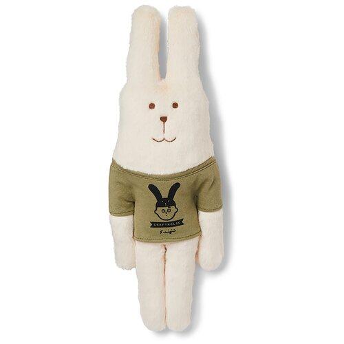 AS1500-01 Collabration LOGO RAB, S / Игрушка мягконабивная, изображающая Зайца