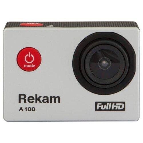 Фото - Экшн-камера Rekam A100 серебристый rekam rb 4003 kit