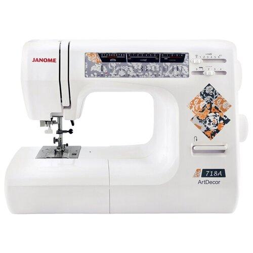 Швейная машина Janome ArtDecor 718A, белый