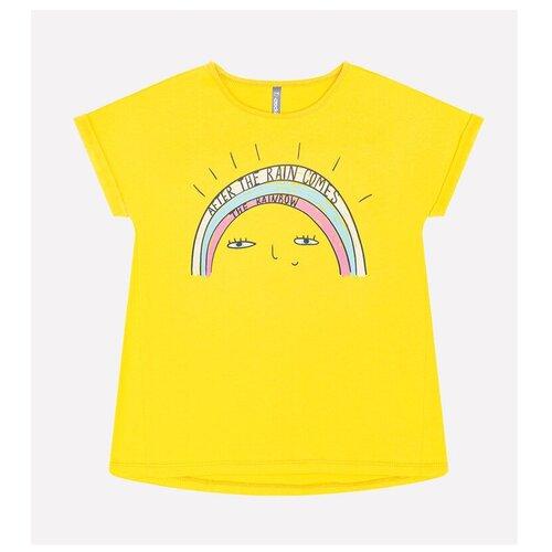 Фото - Футболка crockid, размер 122, желтый футболка crockid размер 122 леденец