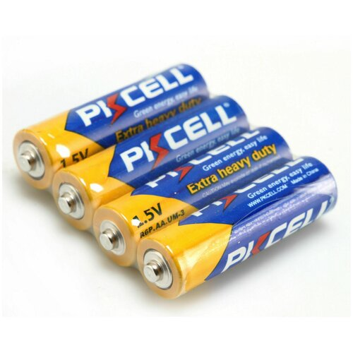 Фото - Батарейка PKCELL Extra Heavy Duty AA/R6, 4 шт. батарейка energizer max plus aa 4 шт
