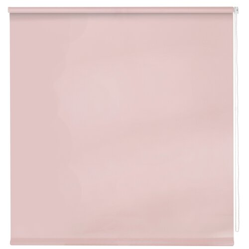 Рулонная штора DECOFEST Пыльная роза, 160х160 см