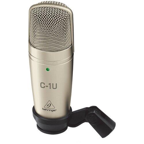 Микрофон BEHRINGER C-1U, золотистый