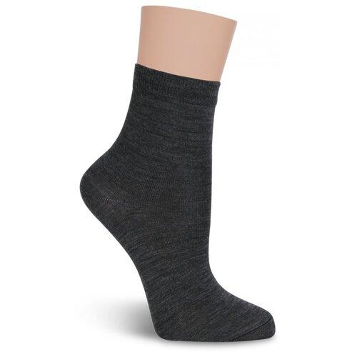 Термоноски детские LorenzLine Л94 Полушерсть+Thermolite, Серый, 18-20 (размер обуви 29-31)