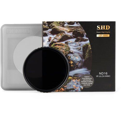 Фото - Benro SHD ND16 IR ULCA WMC ? 77 мм светофильтр нейтрально-серый светофильтр benro shd nd8 ir ulca wmc 77 mm